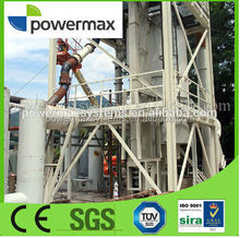modular design coconut waste biomass gasification power plant with CE certificate