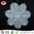 Hanging christmas decorations crafts paper snowflake frozen white