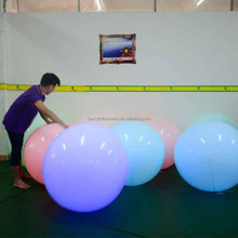 Touch control/RC control inflatable zygote interactive balls, led crowd balls for event party