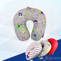 U shape Neck Pillow, Travel Pillow Car Neck Pillow, Micro Beads Neck Pillow, Removable Cover