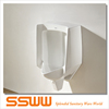 Bathroom design wall mount plastic urinal for men