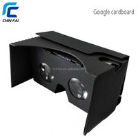 2016 new innoviate products google cardboard 3d VR glasses headset