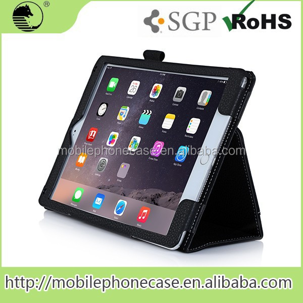 ODM Service Executive leather tablet case For iPad Air 2