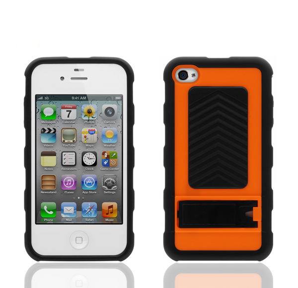Case for iphone,2in1 Front and Back Case for Iphone 4 4S