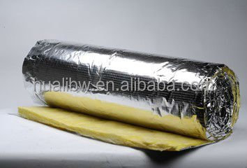 Heat insulation glass wool blanket with Fireproof and waterproof aluminum foil