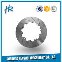 3 years warranty with ISO9001:2008 customized from foundry 350mm brake disc