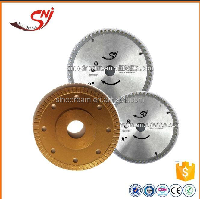 The good quality grantie, concrete,cemamic tiles industry blades
