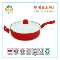 Non stick metal dry cooker pan removable handle fry pan