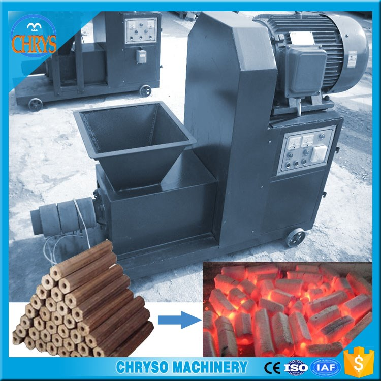Low Price Charcoal Briquette Making Machine For India