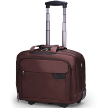 Travel Laptop Trolley Bag With Shoulder Strap