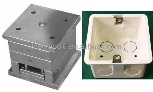 Taizhou High Precision Plastic <strong>Injection</strong> Electric PVC Junction Box Moulding,Electrical Box Mould