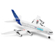 2019 WL TOYS 2.4GHz 3CH 6 Aixs Gyro EPP RC Airplane A380 Airliner Toys For Children's Gift A120