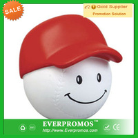 Baseball Mad Cap Reliever Ball with Logo for promotion and anti stress