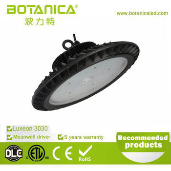 New UFO High Bay Light Fixture 5 years Warranty hot sale 2016 Pendant 150W led high bay light fixture for industrial