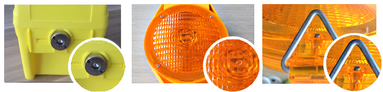 three years warranty led barricade warning light