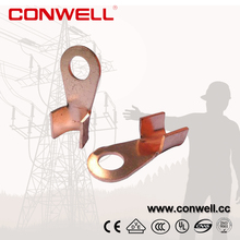 OT 10A-1000A Copper wire nose Open Terminal cable lugs
