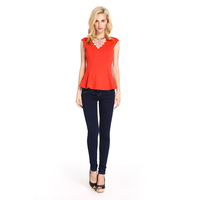 Good Prices High Quality 2014 Ladies Tops Latest Design