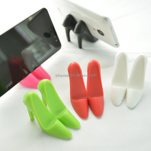 plastic mini High-heeled shoes Mobile Phone Holder