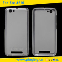 PinJun Wholesale Pudding Soft Skin Cover TPU Case For ZTE Blade A610