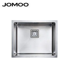 JOMOO fabricated stainless steel kitchen sink single bowl kitchen sink