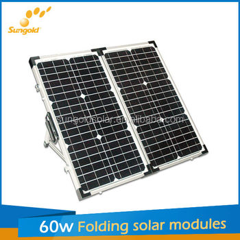2*30w folding solar panel inflatable solar system