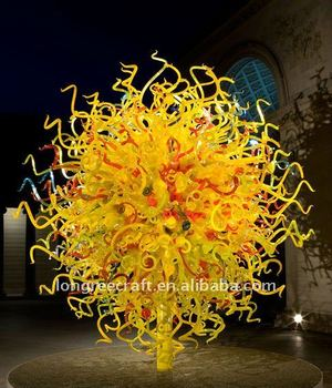 Hot Sale Art Glass Sculpture Light-LRS001