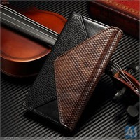 For Apple iphone 6 leather case flip card holder wallet cover envelop style