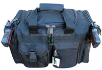 "17"" Black Police Duffle Duty Bag Gun Hunting Carry On Luggage Light Range"