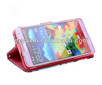 Sublimation leather case for samsung Note 3,kickstand case for samsung galaxy note 3