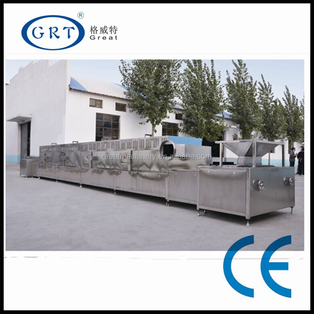 industrial Microwave textile drying sterilization machine