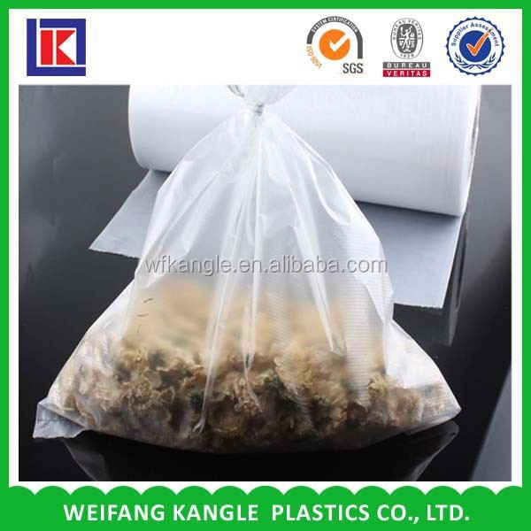 Hot sale foldable polythene LDPE shopping food bag