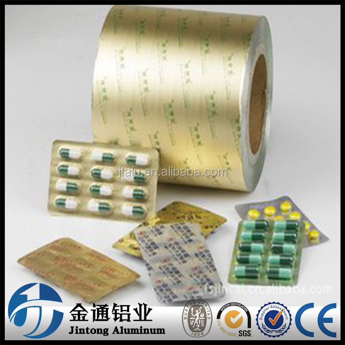 8011 8021 1235 aluminum foil pharmaceutical for pill packaging