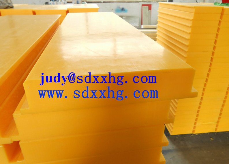 UHMW-PE plastic dock car bumper for wall protection