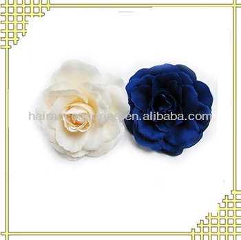 Rose flower beak hair clip