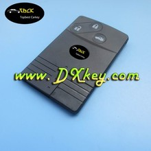 3 button car remote key shell blank key card for Mazda smart key