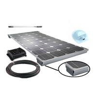 New Energy PV Module 100W Solar Panel for Caravan Golf Car