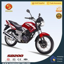 Cool Design Comfortable Seat 250CC Street Bike for Cheap Sale YBR250 SD200