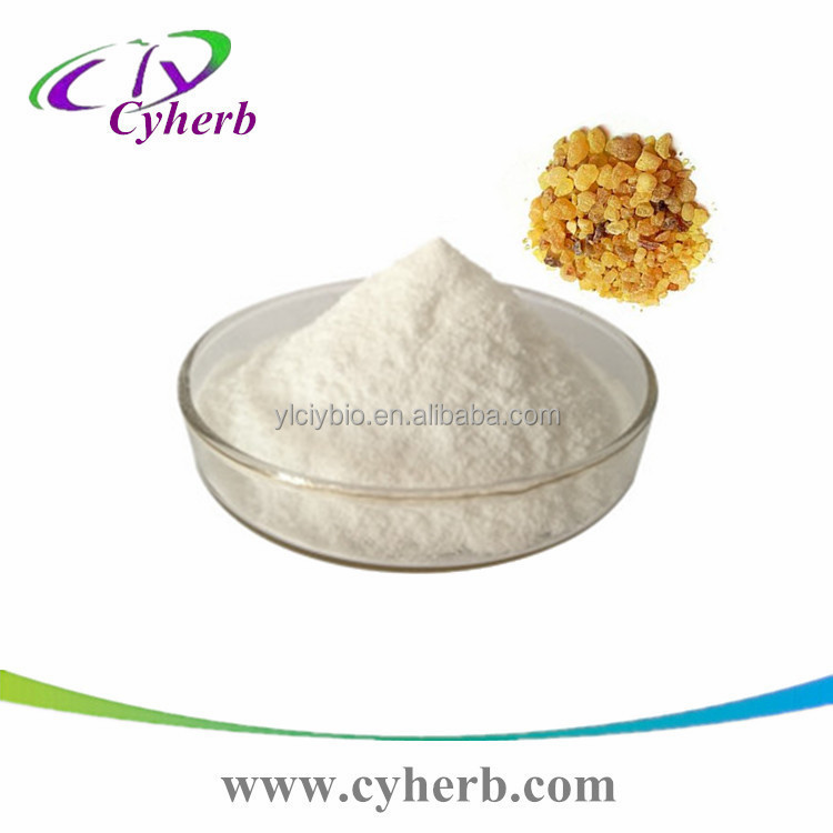 Great quality & factory price Boswellin extract Olibanum extract, Frankincense extract Powder 471-66-9 Boswellic Acid 65%