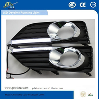 Multi Voltage Car Led Daytime Running Light For Toyota Camry Low Configuration 2012 - 2015 Car Special Part