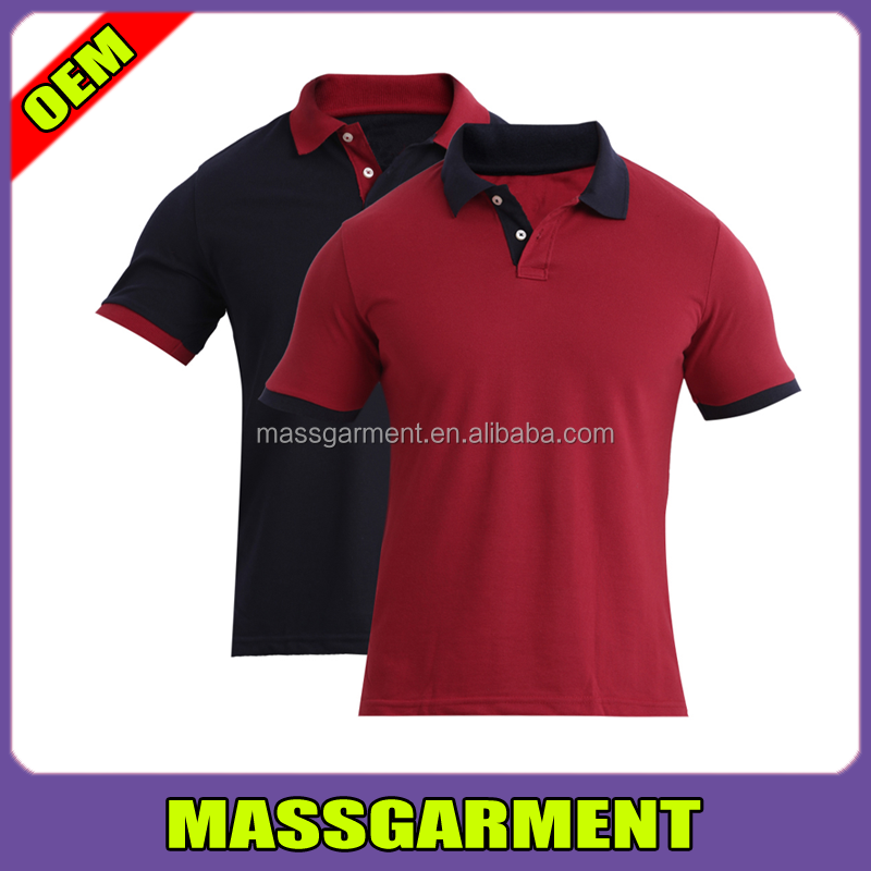 CUSTOMIZED COLORS MEN'S SHORT SLEEVE POLO SHIRTS / T-SHIRTS / POLO TEE