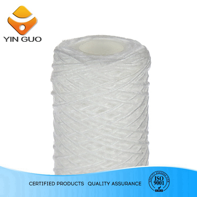 1um-100um high quality pp string wound filter cartridge in ozonator