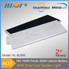 12v waterproof IP65 led solar panel street light 80w for high way