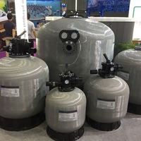 swim pool fiberglass sand filter/side mouth sand filter for swimming pool