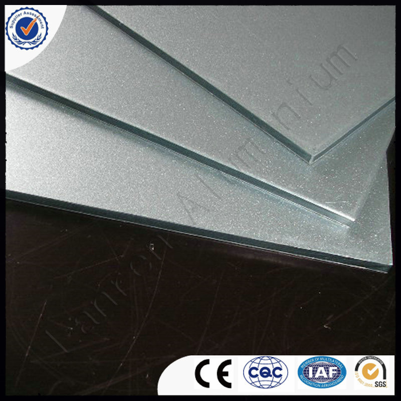 0.15mm 0.18mm aluminum coated PVDFaluminum composite panel
