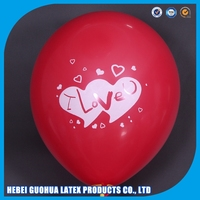 Newest 36'' Oval shape natural latex balloon for advertising, promotion