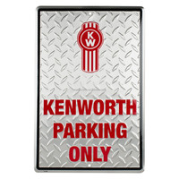 custom aluminum parking only metal sign