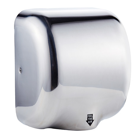 Wall mount ABS plastic single motor jet air automatic hand dryer