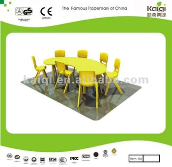 Updated hot selling high quality and kindengarden colorful children like preschool table