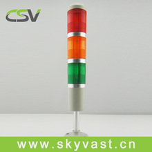 SV50 led red green yellow 3 layers steady tower light No buzzer
