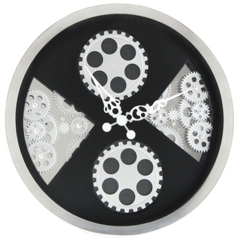 MK-TIME 16 inch moving gear wall clock manufacture